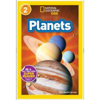 【现货】英文原版 星球 Planets( National Geographic Readers: Level 2 )