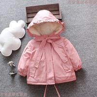 女童冬装棉衣2018新款韩版1-3岁女宝宝洋气婴儿4儿童装加厚潮