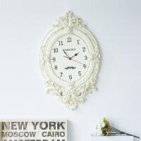 欧式挂钟客厅静音家用大气挂表创意卧室壁挂时钟