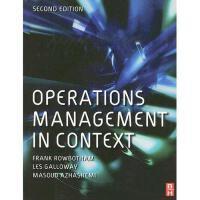 【预订】Operations Management in Context