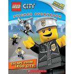 【预订】Lego City: Escape from Lego City!: Sticker