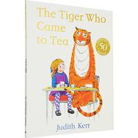 【78选3】英文原版绘本 The Tiger Who Came To Tea 老虎来喝下午茶 常青藤爸爸推荐 Judit
