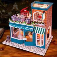 情人节创意礼品礼物DIY小屋八音盒音乐盒 实用特别生日七夕礼物送女生女朋友老婆闺蜜女友