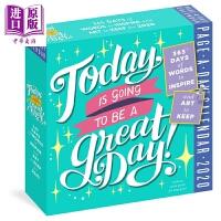 【中商原版】2020日历:今天是一个好日子 Page-A-Day Calendar 2020 益智游戏书 奇趣日历 插图
