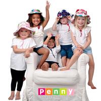 澳大利亚Penny Scallan儿童时尚帽子 男女孩太阳帽防晒帽防紫外线