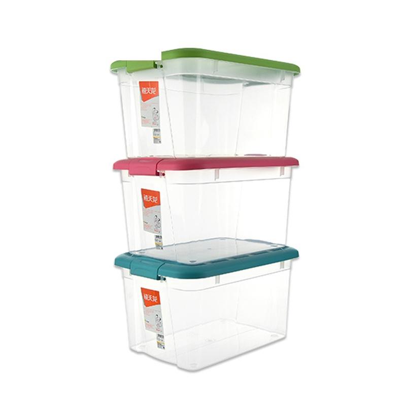 储物箱大号收纳盒3个装塑料整理箱衣物收纳箱儿童玩具 发货周期:一般在付款后2-90天左右发货,具体发货时间请以与客服协商的时间为准