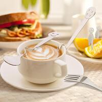 不锈钢叉子勺子套装家用便携不锈钢餐具套装