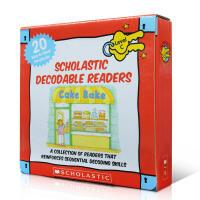 英文原版绘本 Decodable Readers Box Set Level C 20册盒装 学乐自然拼读初级Phon