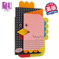 【中商原版】异形折叠书 英文原版 Helping Hen (Concertina Books) 精装 纸板书 3-6岁