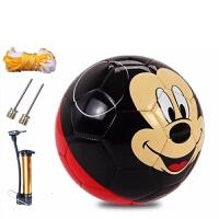 儿童足球米奇公主卡通2号PVC机缝足球幼儿宝宝玩具训练足球儿童节礼物