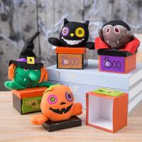万圣节创意儿童糖果盒学生礼物南瓜小糖果罐装饰品礼物盒节日氛围