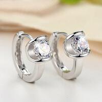耳环耳扣女 天使之耳扣 甜美气质银饰