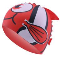 儿童泳帽男童女童防水护耳宝宝卡通硅胶游泳帽游泳装备