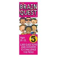 【现货】英文原版 Brain Quest Grade 5, Ages 10-11, Revised 4th儿童智力开发系列卡片 5年级 10-11岁 修订版