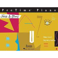 【预订】PreTime Piano, Primer Level, Jazz & Blues