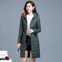 轻薄棉衣女2018冬季女装韩版中长款宽松大码时尚羽绒外套