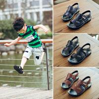 男童凉鞋夏季新款儿童鞋子小孩中大童学生宝宝沙滩鞋
