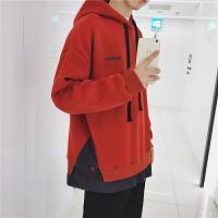 秋装男士连帽套头chic卫衣男韩版时尚学生宽松外套带帽青春流行潮