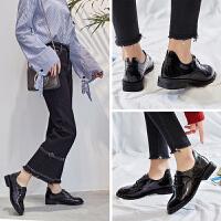 ZHR2018春季新款英伦风小皮鞋软妹单鞋休闲鞋平底鞋子原宿风女鞋J55