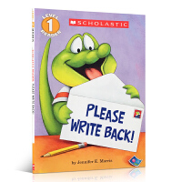 英文原版绘本Please Write Back! (Level 1)请给我回信汪培�E推荐