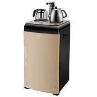 美的(Midea)饮水机 立式茶吧机家用恒温下置式高端自主控温饮水器YR1706S-X