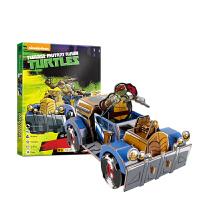 20180530065519991忍者神龟3D立体拼图 儿童手工diy男孩玩具4-6岁汽车拼装模型