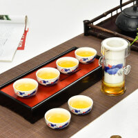 陶瓷茶具套装玻璃红茶泡茶器过虑双耳杯花茶壶冲茶器