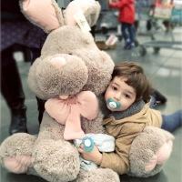 兔子毛绒玩具宝宝睡觉安抚抱枕公仔女孩儿童生日礼物陪睡娃娃