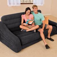 门扉 充气沙发床 多功能可折叠双人充气沙发懒人沙发客厅沙发沙发床午休躺椅