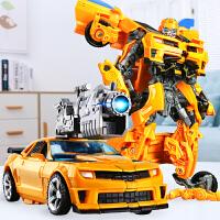 手办合金变形玩具金刚5大黄蜂电影恐龙汽车机器人儿童男孩