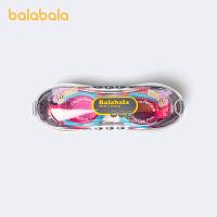 巴拉巴拉儿童眼镜泳镜女童时尚泳具防起雾游泳镜撞色洋气美人鱼潮夏