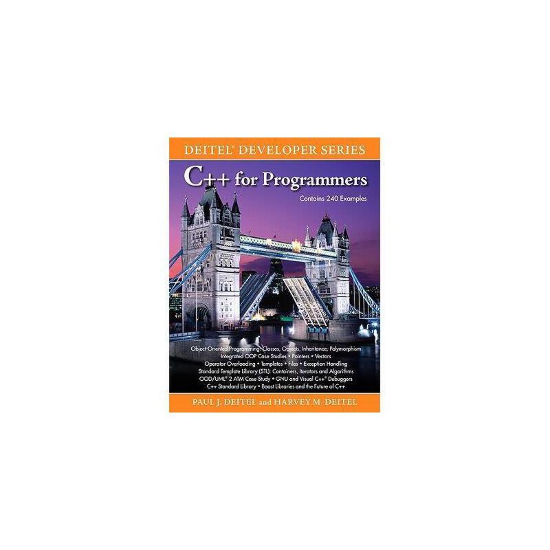 【预订】C++ for Programmers 美国库房发货,通常付款后3-5周到货!