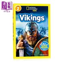 【中商原版】国家地理2级:维京人 National Geographic Readers Vikings 儿童家庭教辅课