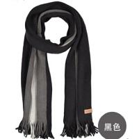 时尚秋冬季男士韩版潮冬天毛线围巾仿羊绒针织围巾