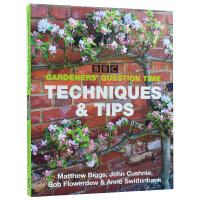 Gardener's Question Time Techiques & Tips花艺师的技巧及要点 花卉种植书籍 培养