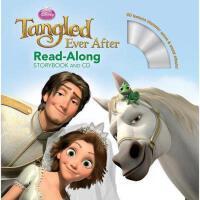 英文原版儿童书 Ever After [With CD (Audio)] 长发公主续篇:麻烦不断(书 CD) 有声读物