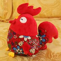 鸡年吉祥物毛绒玩具女生小鸡公仔大公鸡玩偶小黄鸡抱枕礼物布娃娃