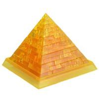 领智立体水晶拼装积木 金字塔 圣诞礼物 礼品 生日礼物