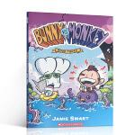 英文原版 Bunny vs. Monkey 3 兔子大战猴子 全彩漫画 爆笑兔子大战猴子的故事读物 7-10岁儿童课后