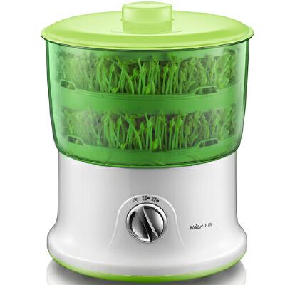 小熊(Bear)豆芽机全自动 家用双层发豆芽机大容量豆芽菜机 DYJ-S6365 预售产品 预计3月13日发货