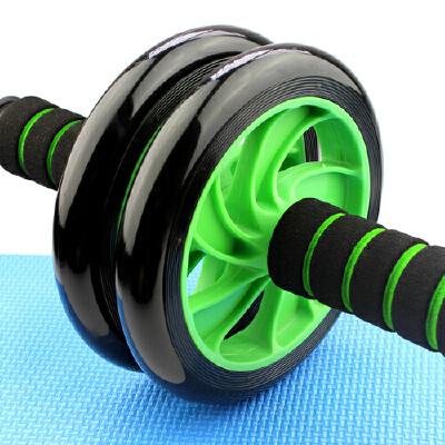 【开学季特惠价】杰米仕腹肌轮家用男女士双轮静音锻炼腹部滚轮减肚子马甲线收腹训练健身器结实耐用 居家健身