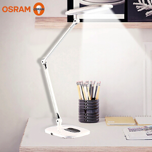 欧司朗晶漾LED台灯儿童阅读学生学习宿舍灯卧室调光调色