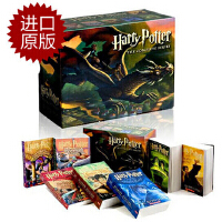 【现货】英文原版 哈利波特1-7全集套装 The Complete Harry Potter Collection (