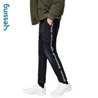 【网易严选 顺丰配送】Yessing男式织带运动牛仔裤