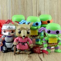 可动人偶车载摆件玩具 Q版忍者神龟武器公仔模型 施耐德 老鼠老师