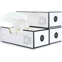 三利 洗脸巾 一次性面巾纸化妆棉柔巾卸妆清洁面巾 干湿两用美容巾抽纸毛巾 80片/盒