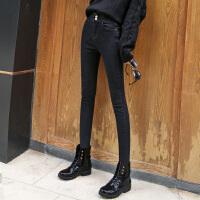 Lee Cooper弹力舒适时尚修身显瘦女裤子个性长裤百搭高腰牛仔裤女