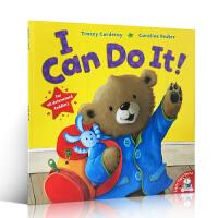 【全店300减100】英文原版绘本 I Can Do It! 自己的事情自己做 自信心培养!我能做得到 儿童启蒙认知 大