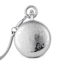 手表男女士机械怀表 镂空表 商务夏季新腕表 怀表