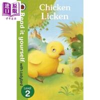 【中商原版】小飘虫独立阅读系列:小鸡里肯 Chicken Licken 独立阅读 分级读物 故事书 亲子绘本 4~7岁